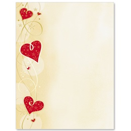 Heart Dazzle Specialty Border Papers