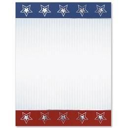 Patriotic Facade Specialty Border Papers