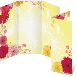 Dancing Daisies 3-Panel Brochures