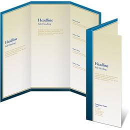 Advance 3-Panel Brochures