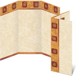 Arabesque 3-Panel Brochures