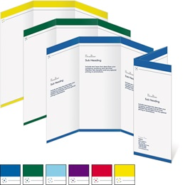Balance 3 Panel Brochures