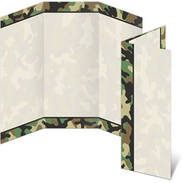 Camouflage 3-Panel Brochures