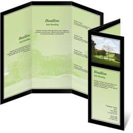 Country Club 3-Panel Brochures