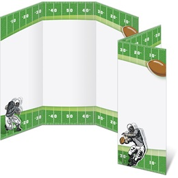 Fantasy Football 3-Panel Brochures