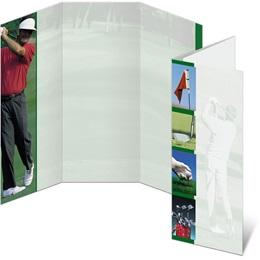 Golf Swing 3-Panel Brochures