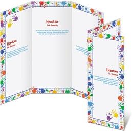 Hand Prints 3-Panel Brochures