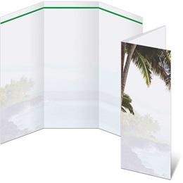 Island Tropics 3-Panel Brochures