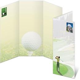 Let's Golf 3-Panel Brochures