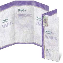 Lavender Spring 3-Panel Brochures