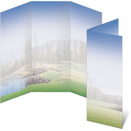 Majestic Greens 3-Panel Brochures