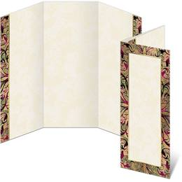 Marquetry 3-Panel Brochures