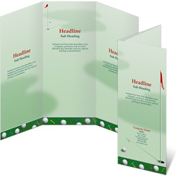 Pin High 3-Panel Brochures