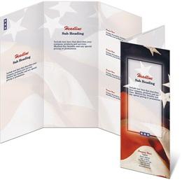 Salute 3-Panel Brochures