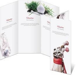 Tee Off 3-Panel Brochures