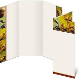 Tee Up 3-Panel Brochures
