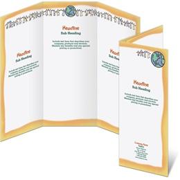 Unity 3-Panel Brochures