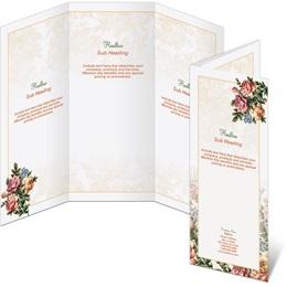 Victorian Rose 3-Panel Brochures