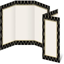 Supreme Black 3-Panel Brochures