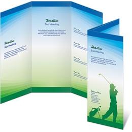 Tee to Green 3-Panel Brochures