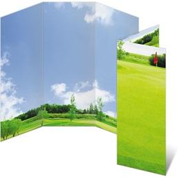 Front Nine Green 3-Panel Brochures