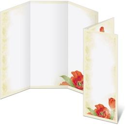 Tulip Romance 3-Panel Brochures