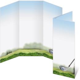 Golfing 3-Panel Brochures