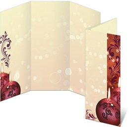Cranberry Lights 3-Panel Brochures