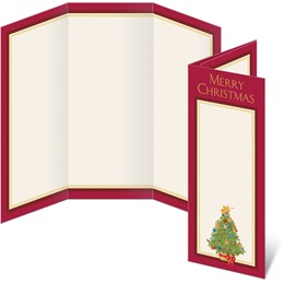O Christmas Tree 3-Panel Brochures