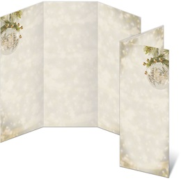 Luminous Holiday 3-Panel Brochures