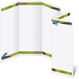 Blue Frog 3-Panel Brochures