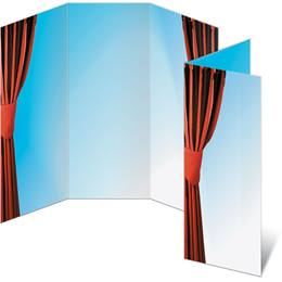 Stage Curtain 3-Panel Brochures