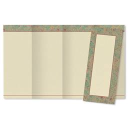 French patina 4-Panel Brochures