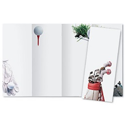 Tee Off 4-Panel Brochures