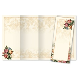 Victorian Rose 4-Panel Brochures