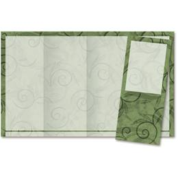 Viridian Scroll 4-Panel Brochures