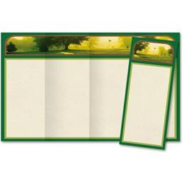 Back Nine 4-Panel Brochures