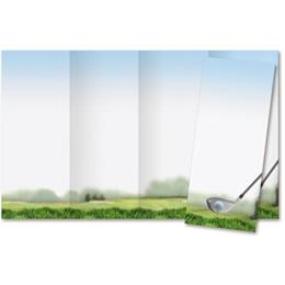 Golfing 4-Panel Brochures