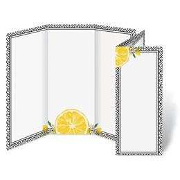 Lemon Fresh 3 Panel Brochures