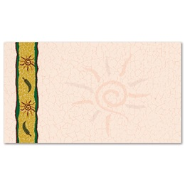 Swirly Sun Business Cards