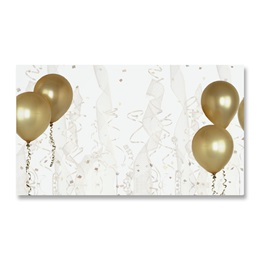 Gold Balloons Business Cards