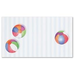 Beach Balls Business Cards