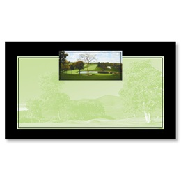 Country Club Business Cards