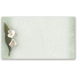 Calla Lilies Business Cards