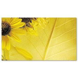 Sunflower Leaf Business Cards