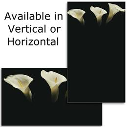 Calla Lilies II Business Cards