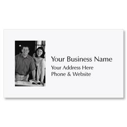 Add a Photo Business Cards