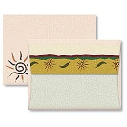 Swirly Sun A2 Envelopes