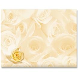 Cream Roses A2 Envelopes