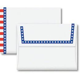 Star Spangled A2 Envelopes